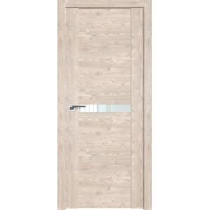 Дверь Профиль дорс 2.01XN Каштан светлый - со стеклом
