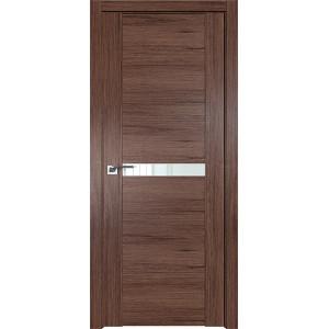 Дверь Профиль дорс 2.01XN Салинас темный - со стеклом