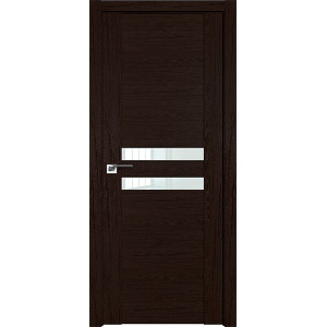 Дверь Профиль дорс 2.03XN Дарк браун - со стеклом