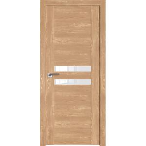 Дверь Профиль дорс 2.03XN Каштан натуральный - со стеклом