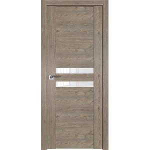 Дверь Профиль дорс 2.03XN Каштан темный - со стеклом