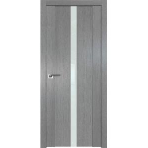 Дверь Профиль дорс 2.04XN Грувд серый - со стеклом