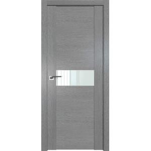Дверь Профиль дорс 2.05XN Грувд серый - со стеклом
