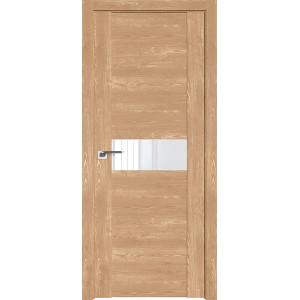 Дверь Профиль дорс 2.05XN Каштан натуральный - со стеклом