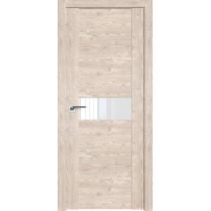 Дверь Профиль дорс 2.05XN Каштан светлый - со стеклом