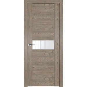 Дверь Профиль дорс 2.05XN Каштан темный - со стеклом