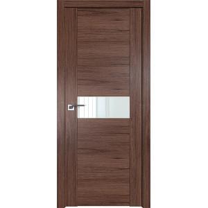 Дверь Профиль дорс 2.05XN Салинас темный - со стеклом