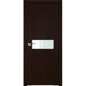 Дверь Профиль дорс 2.05XN Дарк браун - со стеклом