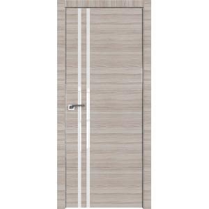 Дверь Профиль дорс 19Z Капуччино кроскут - со стеклом
