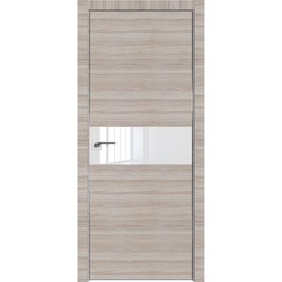 Дверь Профиль дорс 4Z Капуччино кроскут - со стеклом