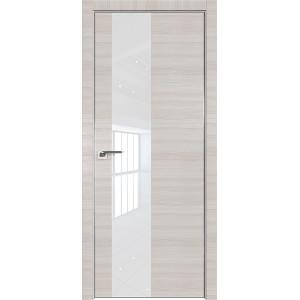 Дверь Профиль дорс 5Z Эш вайт кроскут - со стеклом