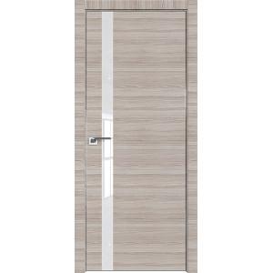 Дверь Профиль дорс 6Z Капуччино кроскут - со стеклом