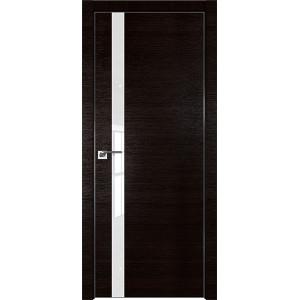 Дверь Профиль дорс 6Z Венге кроскут - со стеклом