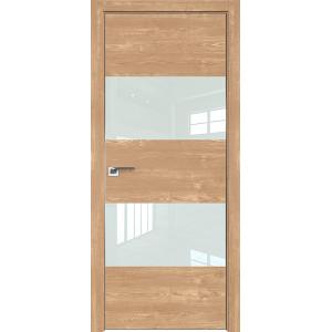 Дверь Профиль дорс 10ZN Каштан натуральный - со стеклом