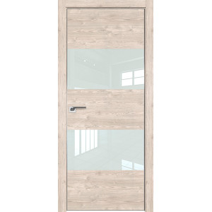 Дверь Профиль дорс 10ZN Каштан светлый - со стеклом