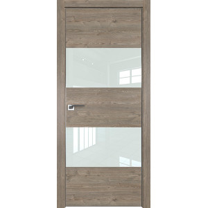 Дверь Профиль дорс 10ZN Каштан темный - со стеклом