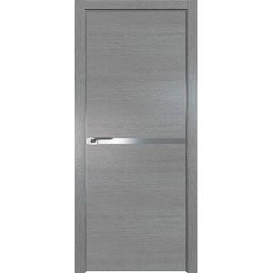 Дверь Профиль дорс 11ZN Грувд серый - глухая