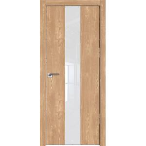 Дверь Профиль дорс 25ZN Каштан натуральный - со стеклом