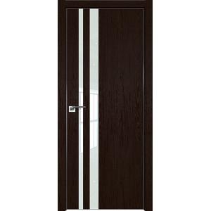 Дверь Профиль дорс 16ZN Дарк браун - со стеклом