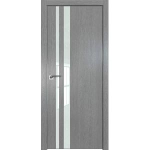 Дверь Профиль дорс 16ZN Грувд серый - со стеклом