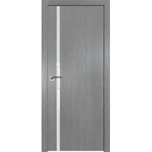 Дверь Профиль дорс 22ZN Грувд серый - со стеклом
