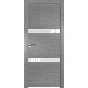 Дверь Профиль дорс 30ZN Грувд серый - со стеклом