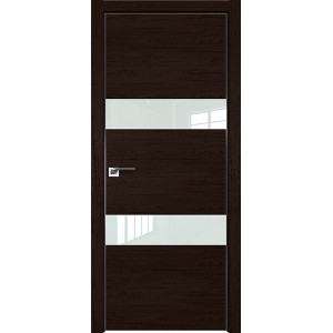 Дверь Профиль дорс 34ZN Дарк браун - со стеклом