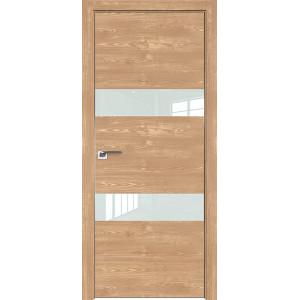 Дверь Профиль дорс 34ZN Каштан натуральный - со стеклом