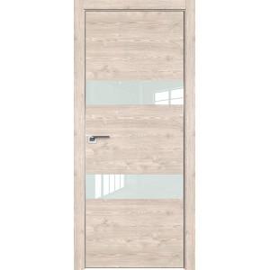 Дверь Профиль дорс 34ZN Каштан светлый - со стеклом