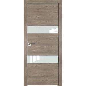 Дверь Профиль дорс 34ZN Каштан темный - со стеклом