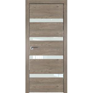 Дверь Профиль дорс 26ZN Каштан темный - со стеклом